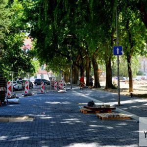 Nový chodník na východnom okraji Landererovho parku
