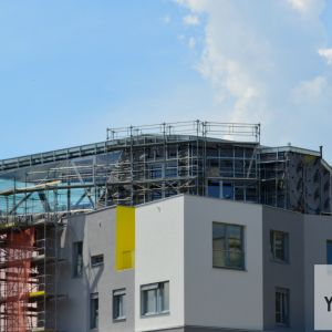 Atypický byt v prvej fáze je zaujímavým architektonickým prvkom, ktorými sa projekty od ITB Development mnohokrát vyznačujú.