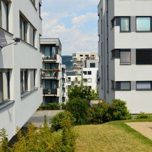 Pohľad na Peknú Vyhliadku z projektu Tarjanne, developerskej prvotiny YIT Slovakia v Bratislave