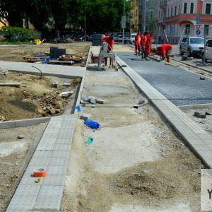 Nový povrch dostane aj cyklotrasa, v ktorej blízkosti bude osadená stanica bikesharingu.