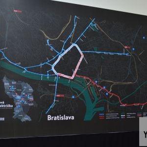 Električkový okruh by dobre prepojil mestské trate, pričom alternatívne spojenia by boli výhodné najmä počas výluk tratí