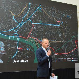 Koncept predstavil Pavel Pelikán, výkonný riaditeľ JTRE