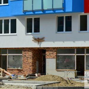 Parter Lužnej 2A pôsobí relatívne dobre - lepšie ako zvyšok domu