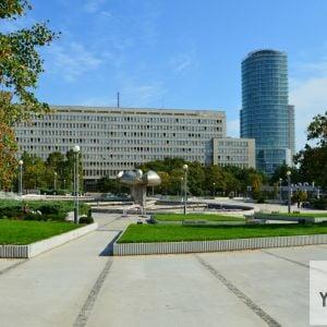 Pohľad od Fakulty architektúry. Foto z 13.9.2018