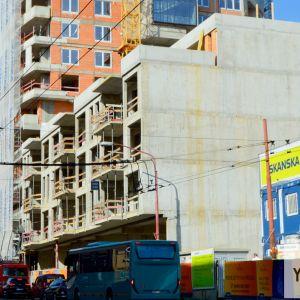 Podnož od Šancovej je v štádiu hrubej stavby a v budúcnosti sa na ňu nalepí objekt Endlicher House