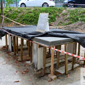 Nový pingpongový stôl z betónu