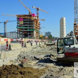 Postupne sa realizuje výstavba podzemného kruhového objazdu.