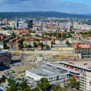 Stavenisko Stanice Nivy od HB Reavis patrí k najväčším v strednej Európe