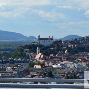 Typická dominanta Bratislavy - Bratislavský hrad