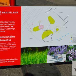 Prezentácia zmien realizovaných mestom
