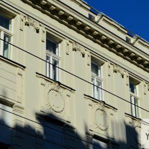 Detaily domu, ktorý ešte viac okrášlil lokalitu a ulicu Palisády.