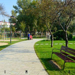 Vstup z južnej strany, na ktorý nadviaže kultúrna zóna - Hydepark