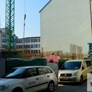 Construction update: Polyfunkčný dom Konventná, 9.10.2018.
