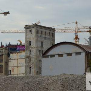 Pradiareň sa nachádza v strategickej polohe v dotyku so vznikajúcim bratislavským downtownom.