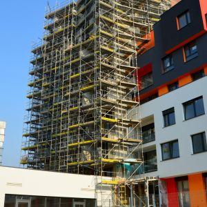 Najvyšší objekt má 10 podlaží a ešte sa len finalizuje fasáda