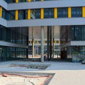 Pasáž spájajúca jednotlivé časti komplexu, do ktorej budú orientované gastroprevádzky