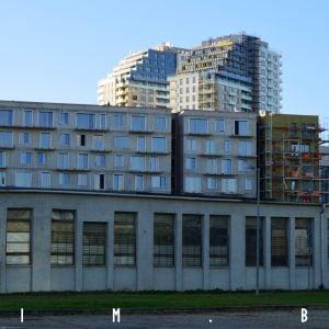 Veže B a C, v popredí projekt Jarabinky
