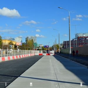 Nová vozovka na ulici Mlynské nivy