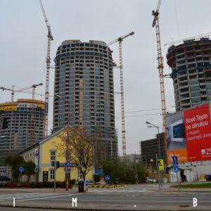 Pohľad z Karadžičovej ulice