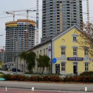Budova Tatra Banky sa zachovala ako NKP