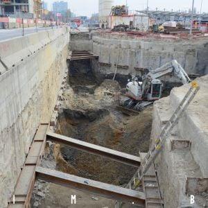 Prestavba ulice Mlynské nivy, výstavba podzemného kruhového objazdu