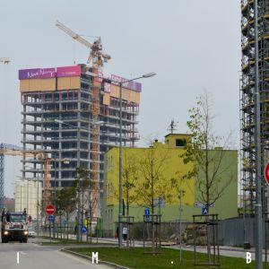 Nivy Tower z Továrenskej ulice