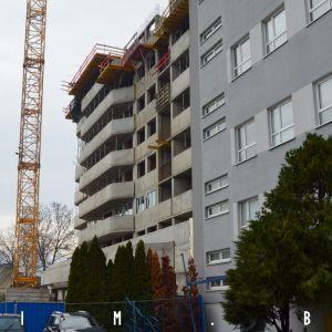 Projekt je orientovaný na juhozápadnú stranu bloku