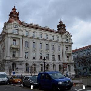Pohľad z Komenského námestia