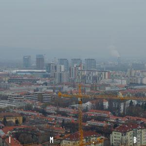 Okolie Trnavského mýta a Bajkalská ulica patria k ďalším častiam Bratislavy s vyšším počtom výškových budov