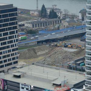 Asanácia a čistenie pozemku po tlačiarni Versus, príprava na výstavbu Eurovea II