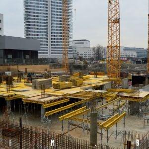 Výstavba administratívnej veže