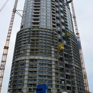 Veža 2 je v najpokročilejšom štádiu výstavby