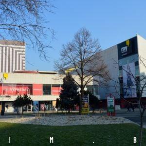 Hotel Kyjev a obchodný dom Prior - aktuálny stav