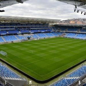 Národný futbalový štadión deň pred úvodným zápasom, 1.3.2019