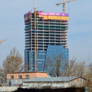 Nivy Tower dosiahne plnú výšku začiatkom leta 2019