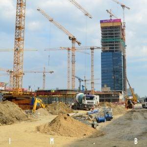 Výstavba ulice Mlynské nivy a Stanice Nivy