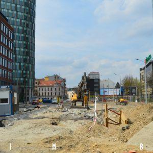 Výstavba ulice Mlynské nivy
