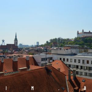 Bratislavský hrad a Dóm sv. Martina