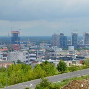 Pohľad na downtown