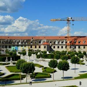 Rekonštrukcia areálu Bratislavského hradu napreduje