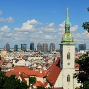 Nová panoráma Bratislavy