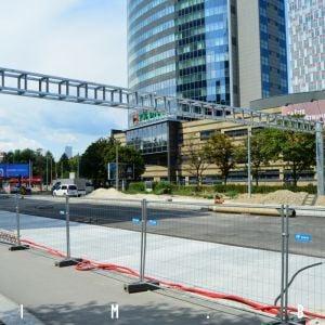 Prestavba Mlynských nív postupuje, ulica čoraz viac viac pripomína diaľnicu