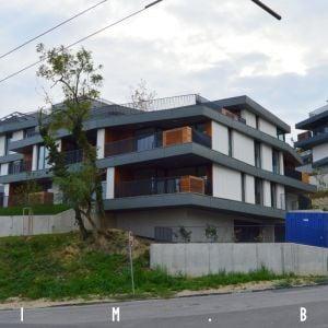 Dom A, pohľad z Podkolibskej ulice