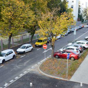 Opravená ulica Viktora Tegelhoffa