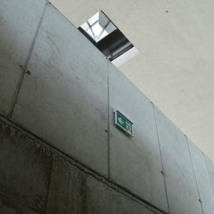 Úzky prístup do miestnosti pod kupolou vytvára ohromujúci efekt