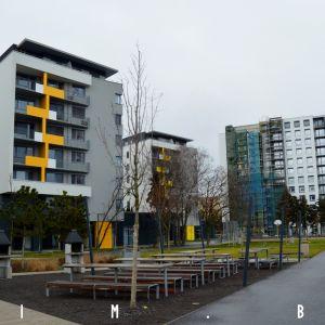 Postupne rastúce Nuppu, komponované okolo centrálneho parku
