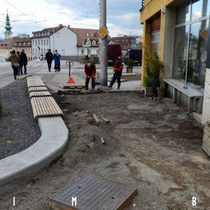Priestor pred kaviarňou sa stane pravdepodobne veľmi využívaným verejným priestorom