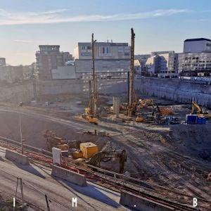 Aktuálny stav výstavby pokračovania Eurovey, 15.3.2020