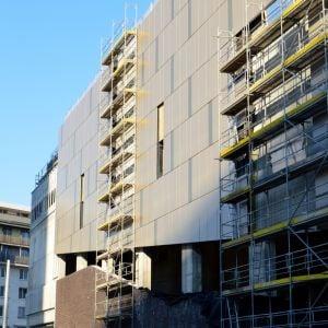 Nová fasáda od Šagátovej ulice