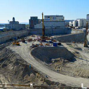 Výstavba Eurovey